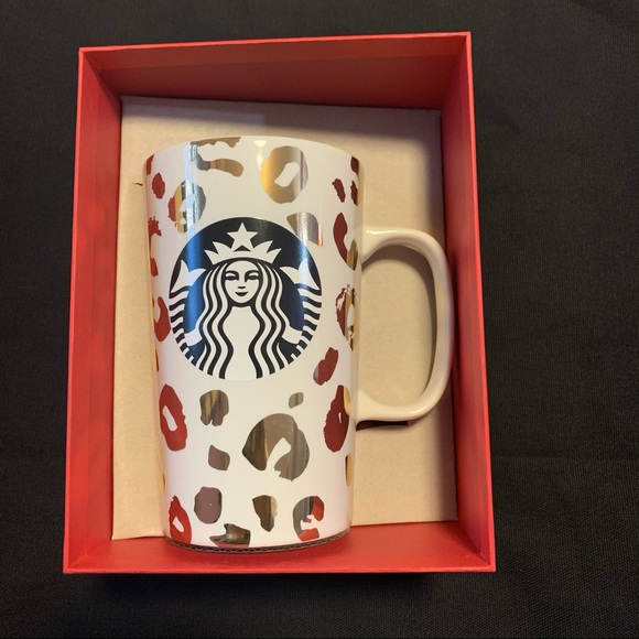 Starbucks Ceramic Mug 16 oz Dot Collection